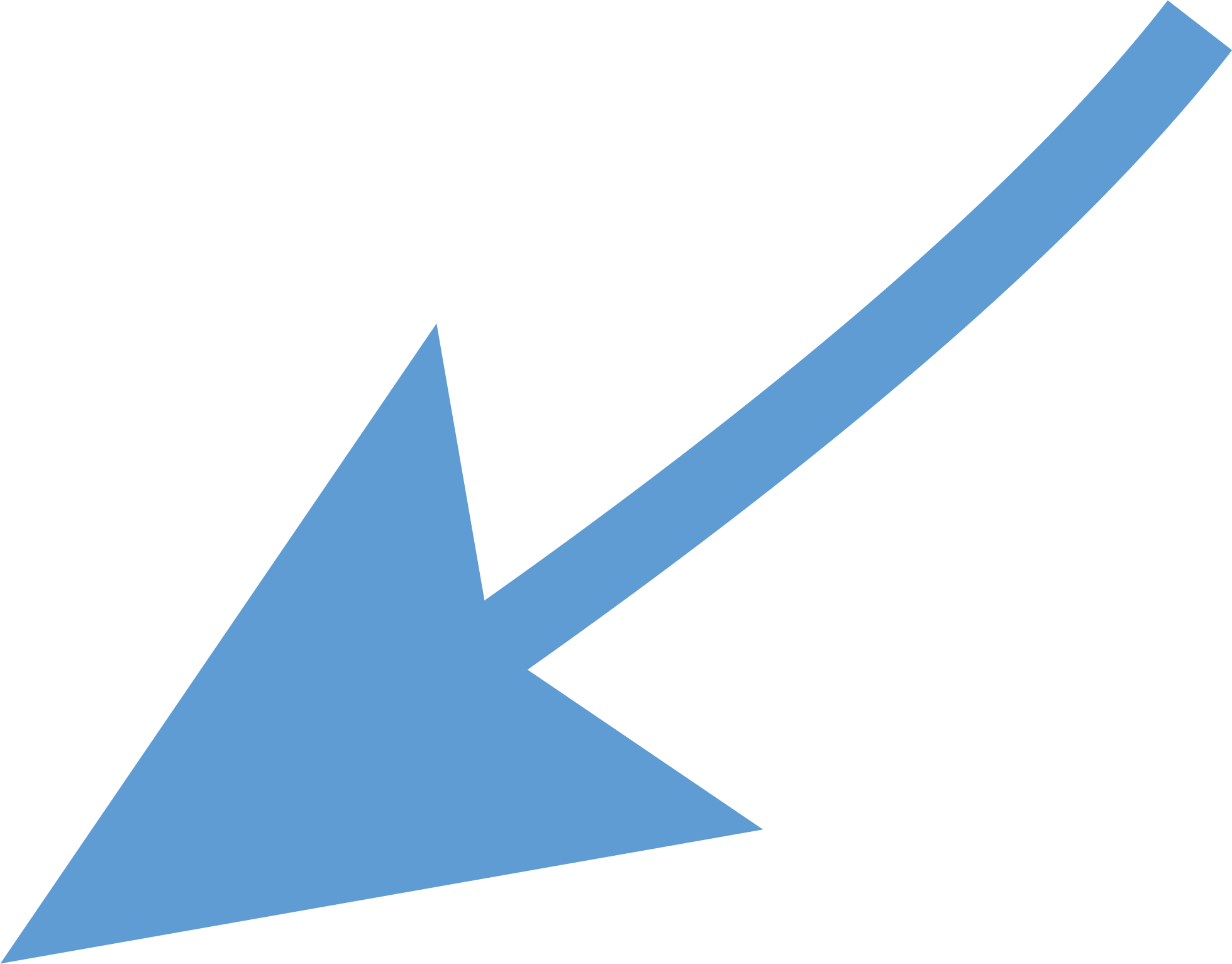 curved arrow