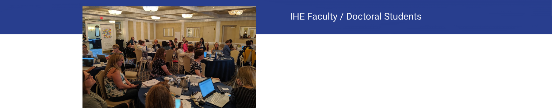 IHE Faculty Header
